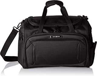 Samsonite Lineate Softside Expandable Luggage with Spinner Wheels, Obsidian Black, Travel Tote