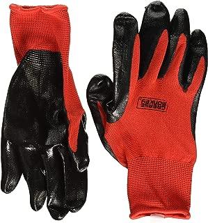 Grease Monkey Nitrile Coated Work Gloves 12 Pairs LARGE