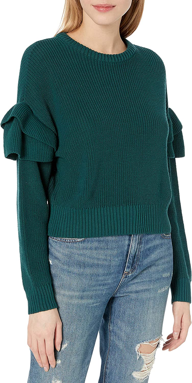 BCBGeneration Women's Cropped Sweater