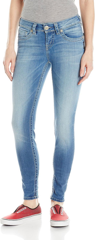 Silver Jeans Co. Womens Silver Jeans Women's Suki Midrise Super Skinny Jean