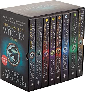 The Witcher Boxed Set: The Last Wish, Sword of Destiny, Blood of Elves, Time of Contempt, Baptism of Fire, The Tower of Th...