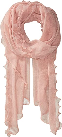 Sheer Knit Evening Wrap