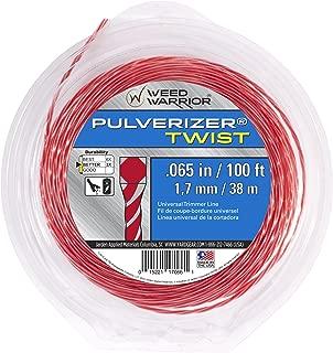 Weed Warrior 17066 Pulverizer Bi-Component Twist Trimmer Lines, 0.065