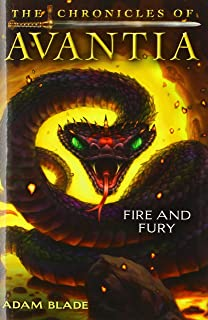 Fire and Fury (the Chronicles of Avantia #4), 4