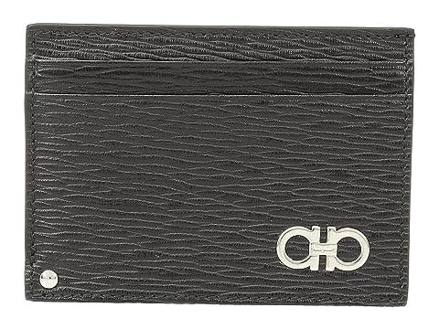 Salvatore Ferragamo Revival Gancio Credit Card Case - 66A061
