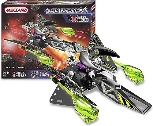 Meccano - 805104 - Jeu de Construction - Toxic Scorpio Dark Pirates