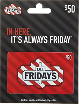 $50 T.G.I. Friday's Gift Card