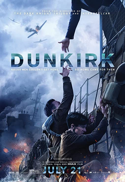 """Amazon.com: Posters USA Dunkirk Movie Poster GLOSSY FINISH - FIL556 (24"""" x  36"""" (61cm x 91.5cm)): Posters & Prints"""