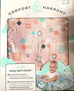 Comfort & Harmony Cozy Stroller Shopping Cart Cover Peach