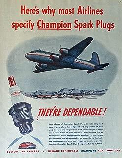 Best spark plug airplane art Reviews