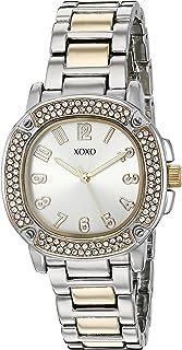 XOXO Women's Quartz Metal and Alloy Watch, Color:Two Tone (Model: XO5912)