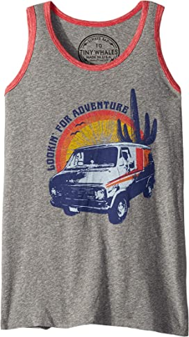 41c84faf Lookin' For Adventure Tank Top (Toddler/Little Kids/Big Kids). Tiny Whales