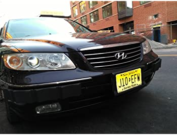 License Plate Frame ONLY Bumper Thumper Ultimate Complete Coverage Front Bumper Guard Shock Absorbing Flexible License Plate Frame PROTECTION SYSTEM Luv-Tap
