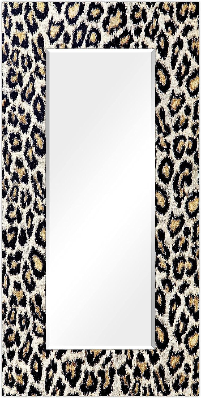 Empire 5% OFF Art Direct Rectangular Beveled Leopard Ranking TOP3 Pri Wall on Mirror