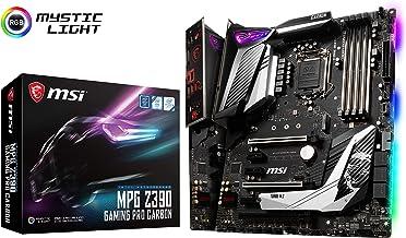 MSI MPG Z390 Gaming PRO Carbon LGA1151 (Intel 8th and 9th Gen) M.2 USB 3.1 Gen 2 DDR4 HDMI DP SLI CFX ATX Z390 Gaming Moth...