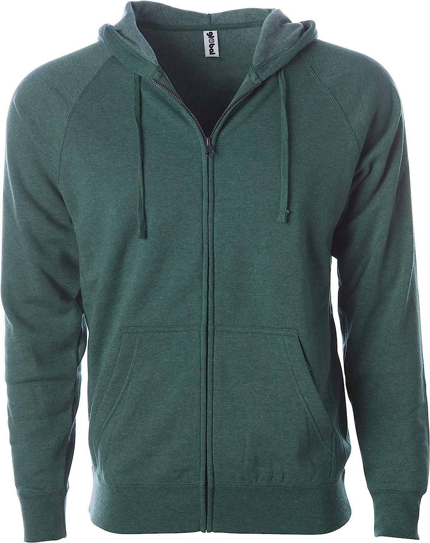 Global Blank Price reduction Super Choice Soft Fleece Sweatshirt Hoodie Up and Zip Men