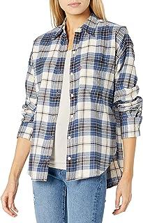 Women's Relaxed Flannel Shirt