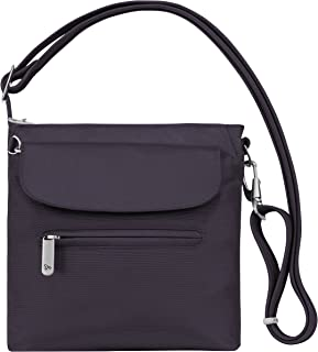 Women's Anti-Theft Classic Mini Shoulder Bag Sling Tote, Purple, One Size