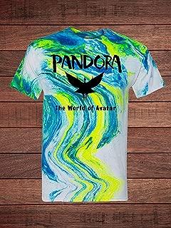 Pandora the World of Avatar Tie Dye Adult T-Shirt