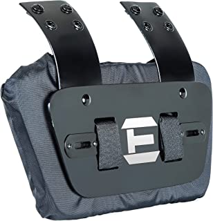 EliteTek Football Back Plate Universal fit for Youth Football Shoulder Pads.
