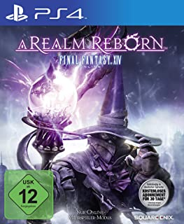 Square Enix Final Fantasy XIV - A Realm Reborn - Juego (PlayStation 4, MMORPG, T (Teen))