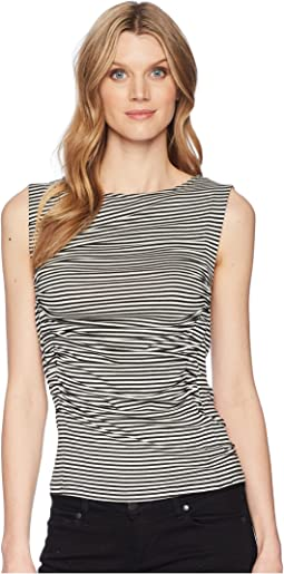 B Collection by Bobeau Rory Ruched Tank Top