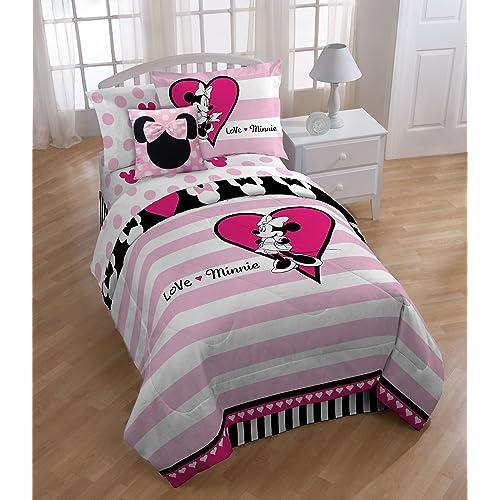 Minnie Mouse Full Bedding Set Amazoncom