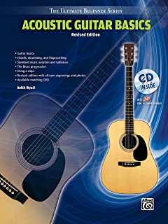 Ultimate Beginner Acoustic Guitar Basics: Steps One & Two, Book & CD (The Ultimate Beginner Series)