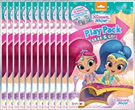 Nickelodeon Shimmer and Shine Grab and Go Play Packs (Pack of 12)