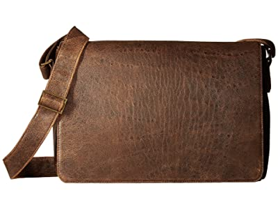 Scully Squadron Messenger Bag (Antique Brown) Messenger Bags