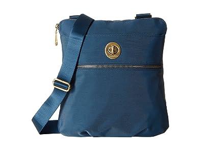 Baggallini Gold Hanover Crossbody (Slate Blue) Cross Body Handbags