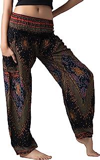 B BANGKOK PANTS Women's Harem Hippie Pants Boho Clothing