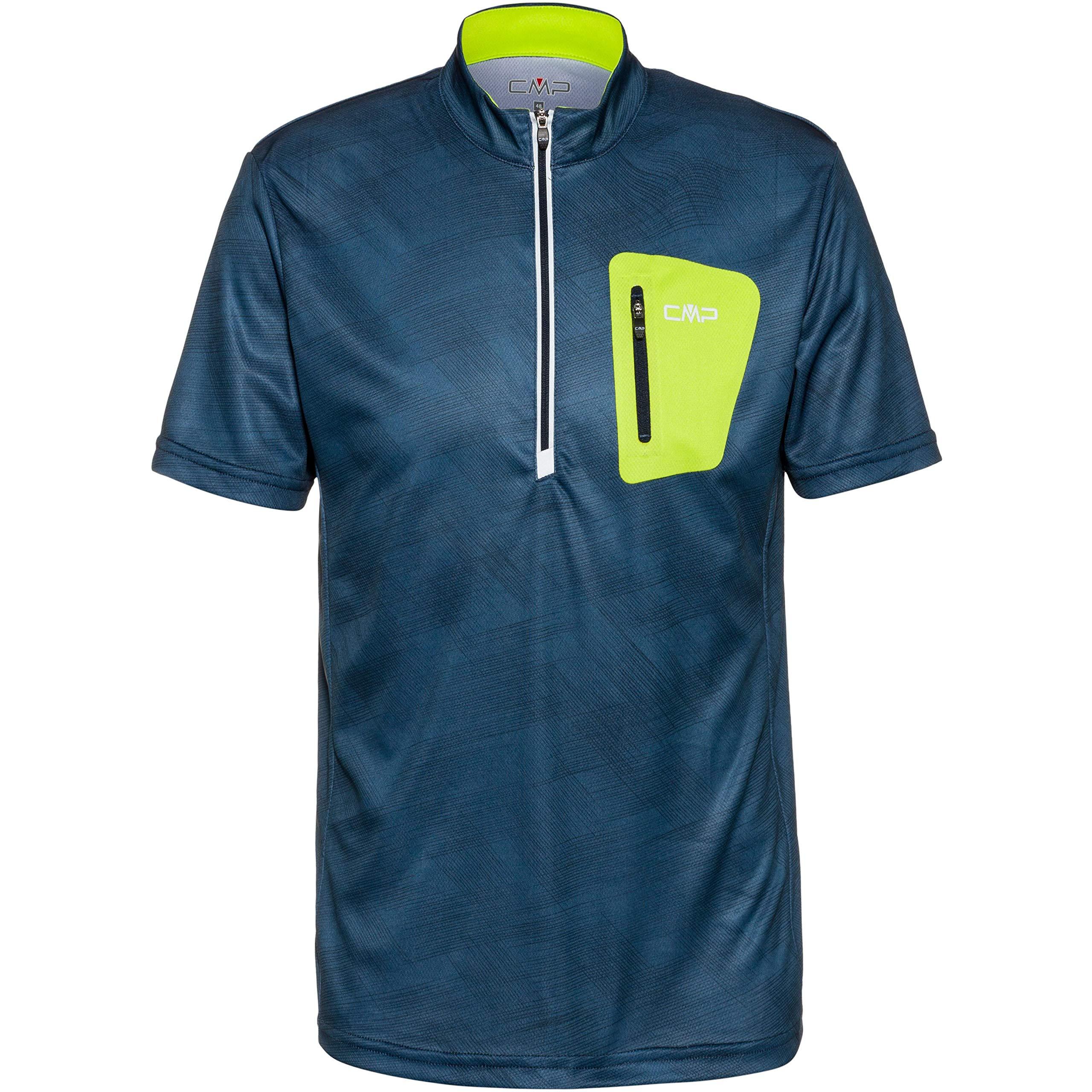CMP Herren Stretch T-Shirt Bike 30C6267, Plutone-Cosmo, 52