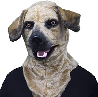 thumbs up dog mask