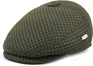 c82fddfb1df1c THE HAT DEPOT Light Weight Soft Cool Mesh newsboy Gatsby Cabbie IVY Golf Hat