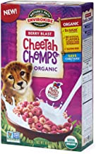Nature's Path EnviroKidz Organic Cereal, Berry Blast Cheetah Chomps, Gluten Free, 10 Oz Box