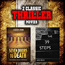 Classic Thriller Movie Double Bill: Seven Doors to Death and The 39 Steps