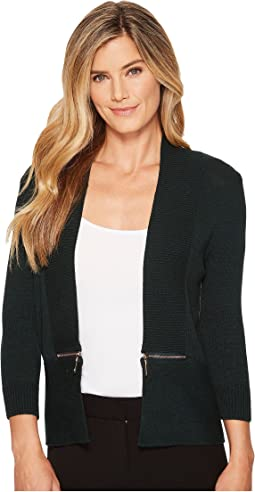 Ivanka Trump - Side Zipper Cardigan