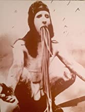 Marilyn Manson Creepy Sepia Poster