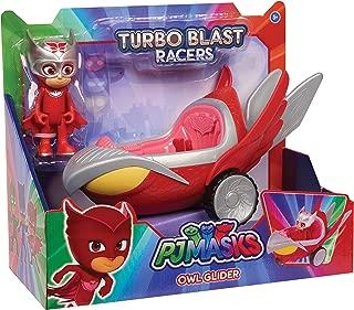 PJ Masks Turbo Blast Vehicles - Owl Glider & Owlette Figure