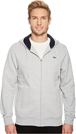 Lacoste - Sport Full Zip Hoodie Fleece Sweatshirt