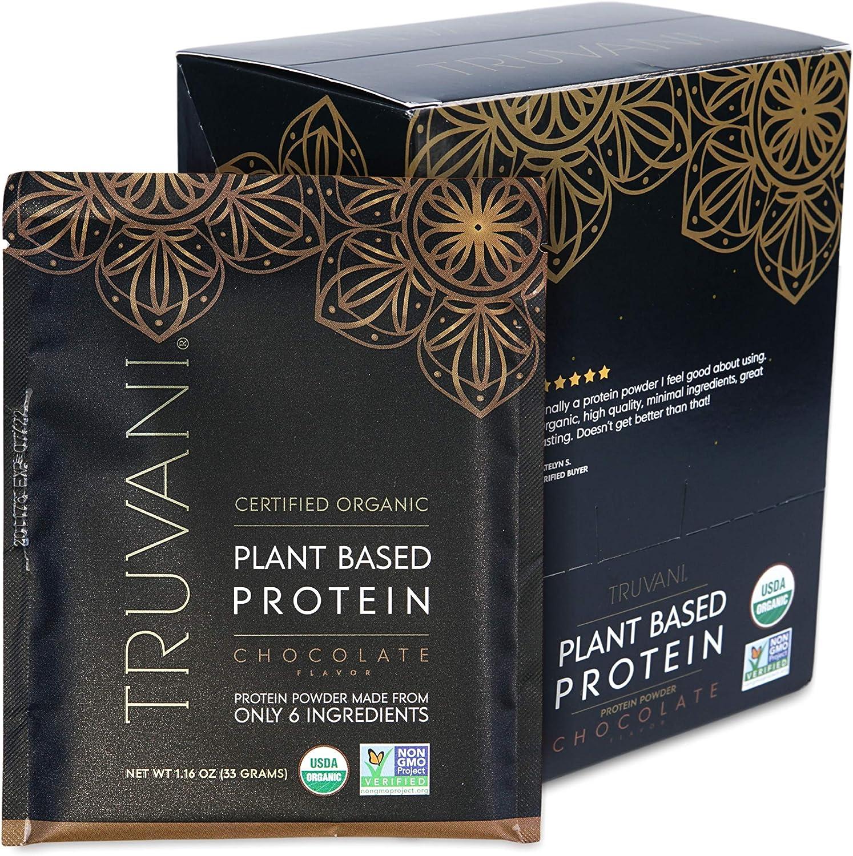 TRUVANI - Super Max 72% OFF special price Plant Based Protein USDA Pr Certified Powder Organic