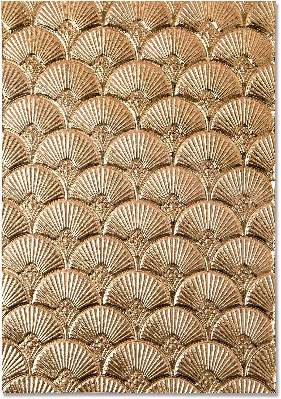 Tampa Mall Sizzix 3D Impresslits Embossing Folder All items free shipping 664507 Art Deco B by Kath