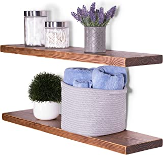 Best rustic floating shelves canada Reviews