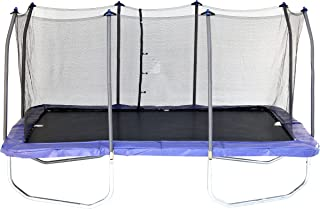 Skywalker Trampolines Rectangle Trampoline with Enclosure Net – Gymnast Trampoline