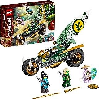LEGO 71745 Ninjago LaMotodelaJungledeLloyd avec Les Minifigurines de Lloyd et NYA pour Enfant de 7 Ans et +