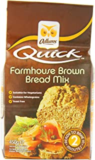 Odlums Irish Farmhouse Bread Mix 450 g (Pack of 5)