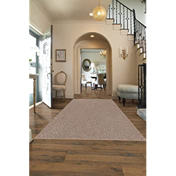 Amazon Com Square 12 X12 Indoor Area Rug Oyster Bay 32oz Plush Textured Carpet For Residential Or Commercial Use With Premium Bound Polyester Edges Furniture Decor