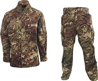 f46562ee6d3207 ALGI Completo Uniforme Mimetico da Combattimento Antistrappo Vegetato  Trattato IR (MOD. Soldato Futuro)