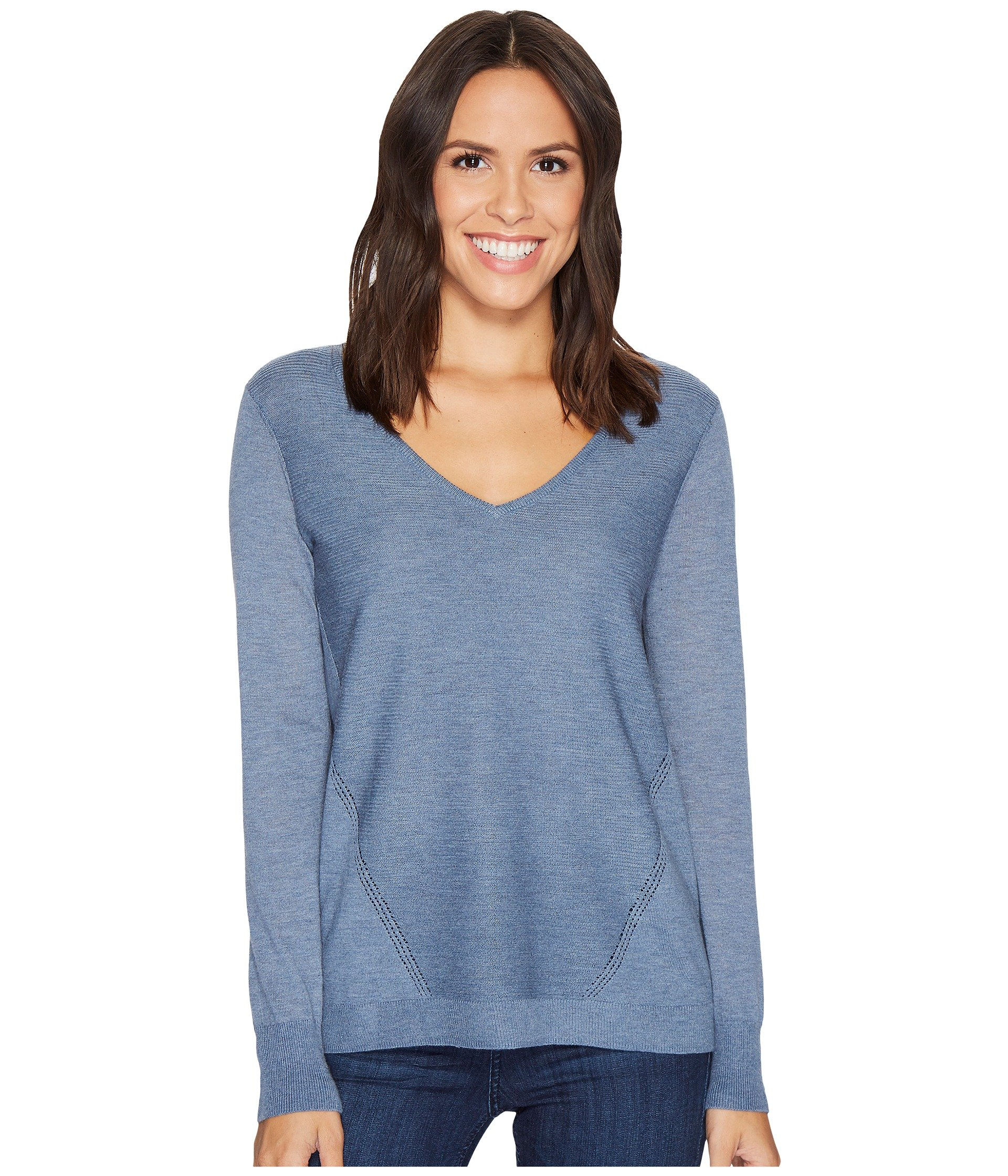 Double V-Neck Sweater